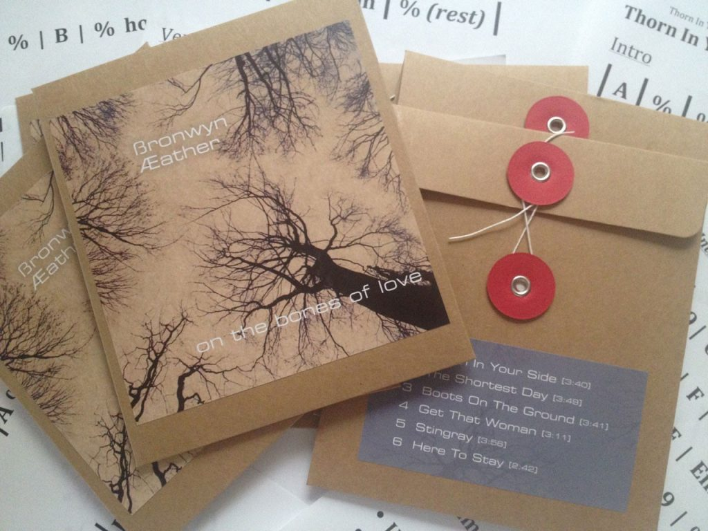 One the bones of Love CD | Bronwyn Eather